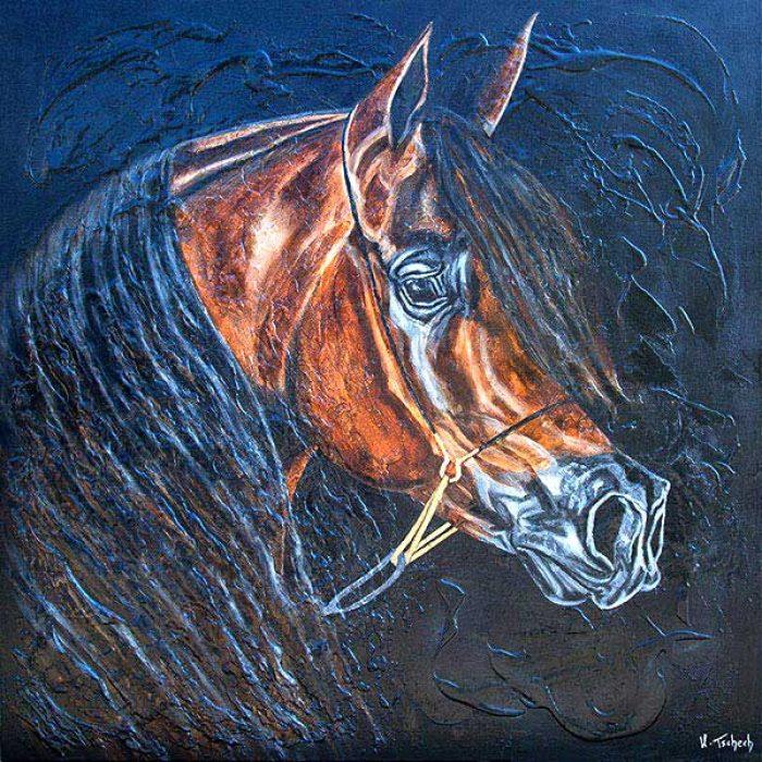 Araber Pferdegemälde