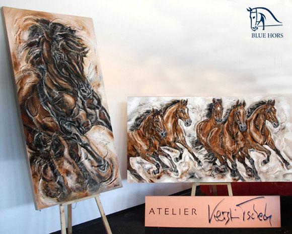 Blue Hors Pferdebilder von Kerstin Tschech