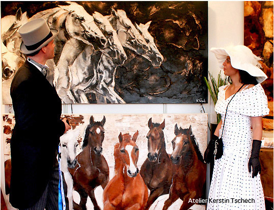 Chio Aachen Horse Paintings