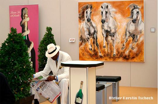 CHIO Aachen VIP Bereich Kerstin Tschech