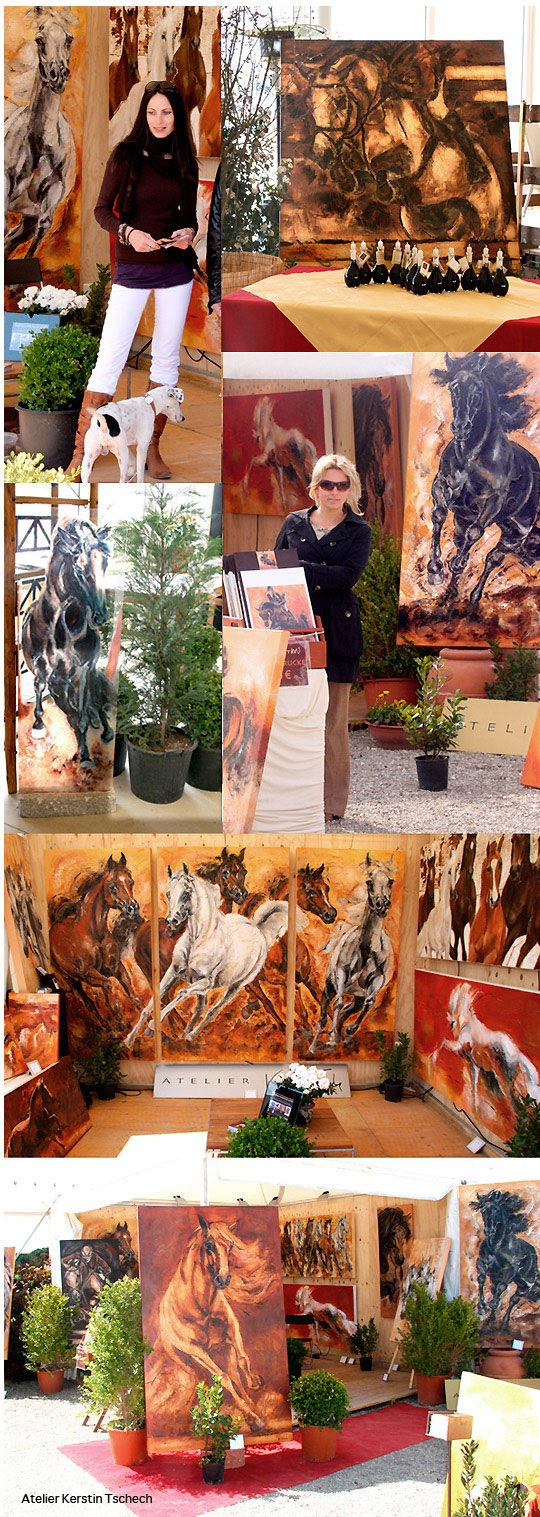 Toscana Tour Horse Paintings