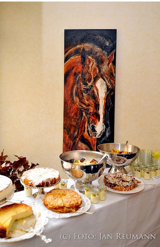 Kerstin Tschech Pferdegemälde Ausstellung
