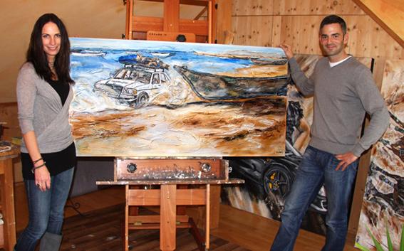 Spendenaktion Gemälde