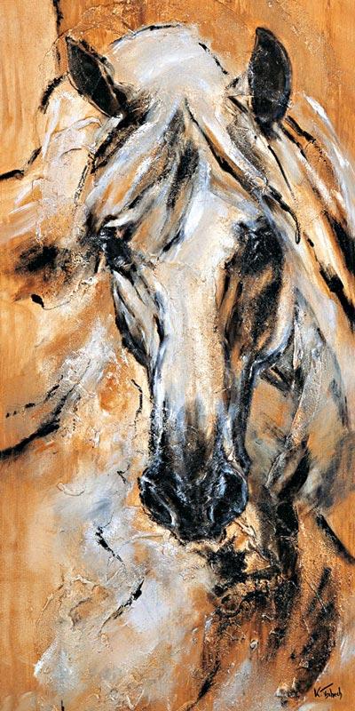 Pferdeportrait Lusitano von Kerstin Tschech