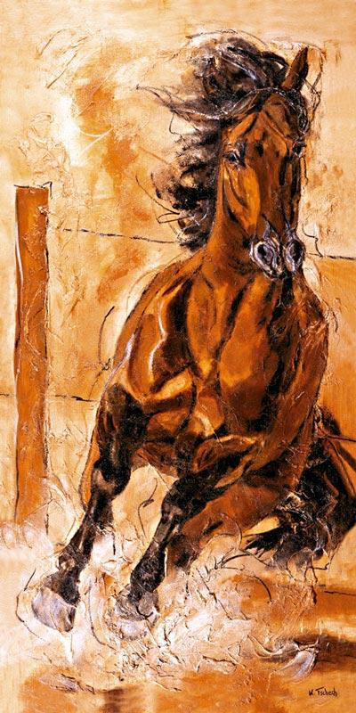 Eigenes Pferd malen lassen