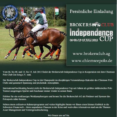 Brokers Club Poloturnier