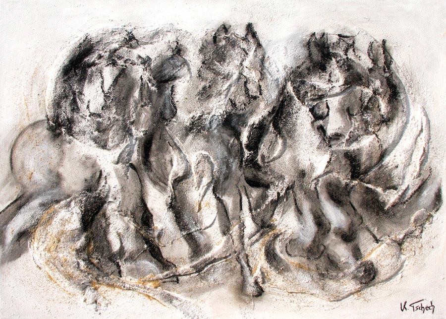 Pferdegemälde Pferdeportrait