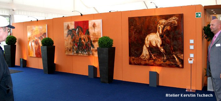 Pferdegemälde Chio Aachen Kerstin Tschech
