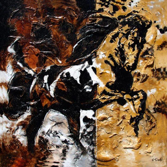 Pferde malen nach Auftrag