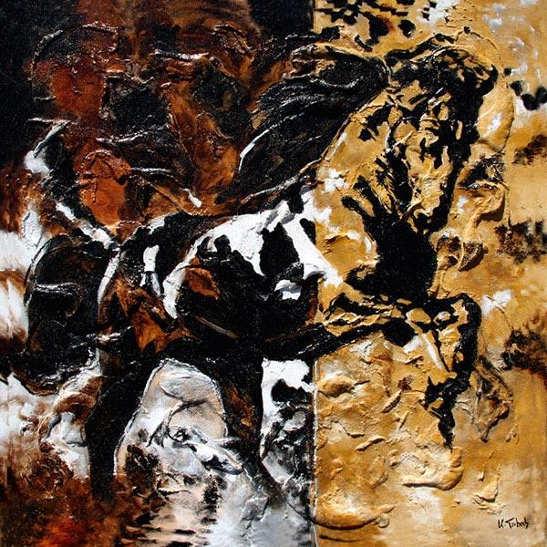 Pferdegemälde und Hundegemälde von Kerstin Tschech