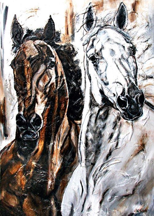 Sportpferde Pferdegemälde