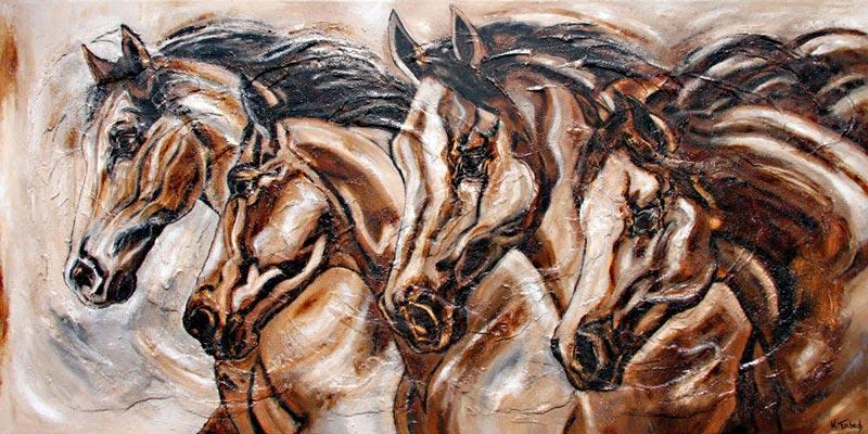 Pferde Portraits Pferdemalerei