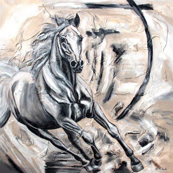 Pferd malen lassen