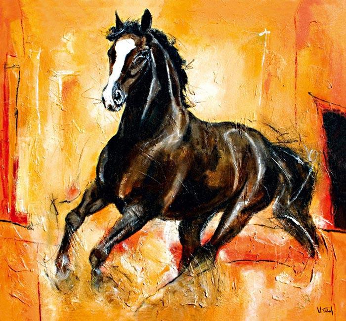 Pferdemalerin Kerstin Tschech