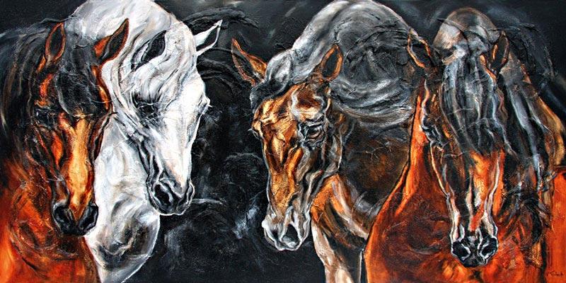 Pferdemaler Kerstin Tschech