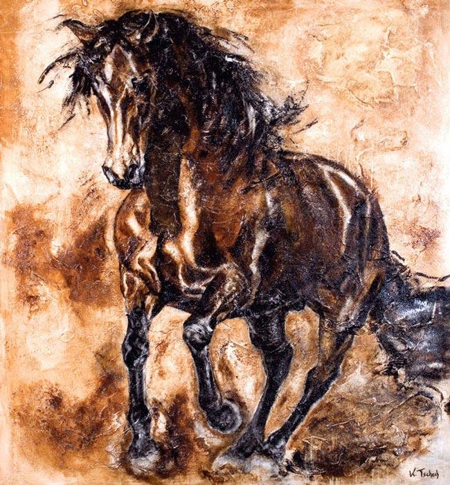 PRE Pferdegemälde und Pferdeportraits
