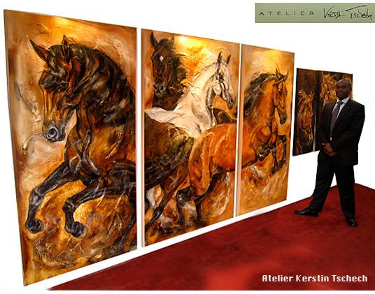 Royal Windsor Horse Show PferdegemäldeKerstin Tschech