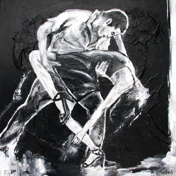Salsa Gemälde von Kerstin Tschech