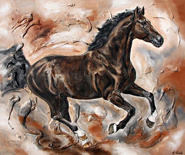 Pferd im Galopp Kerstin Tschech