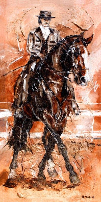 Pferdegemälde Kerstin Tschech