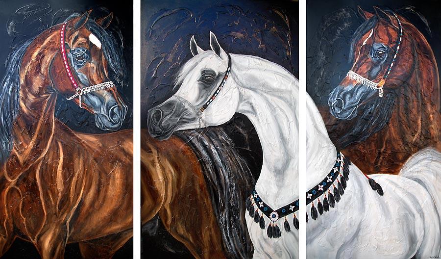 Araber Pferdebild